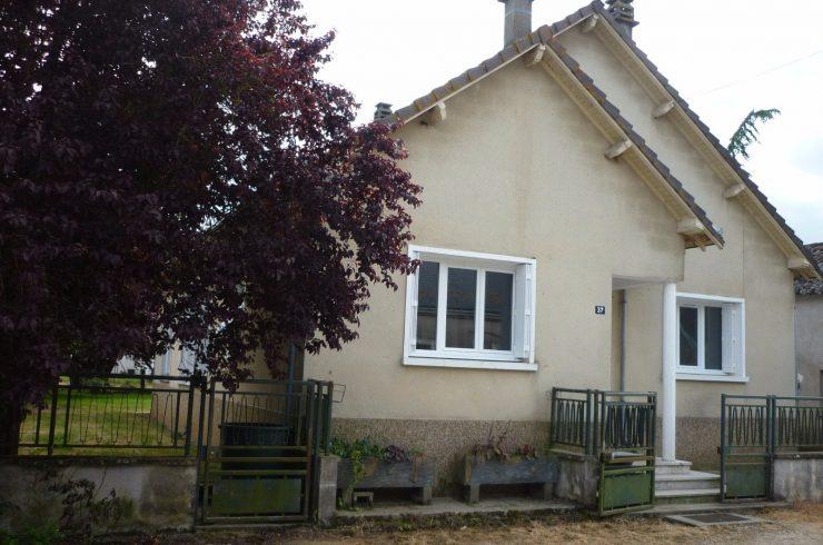 ESVRES – Maison T4 avec terrain et garage